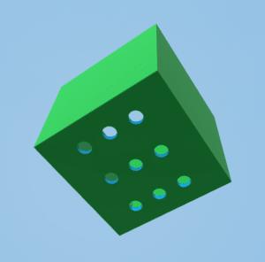 Pflanzbox von unten ohne Deckel.